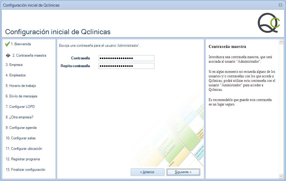 02 Configuración inicial Qclinicas