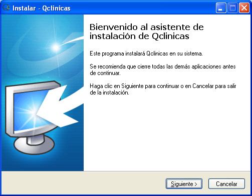 03 Instalación Qclinicas
