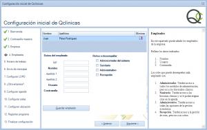 04b Configuración inicial Qclinicas