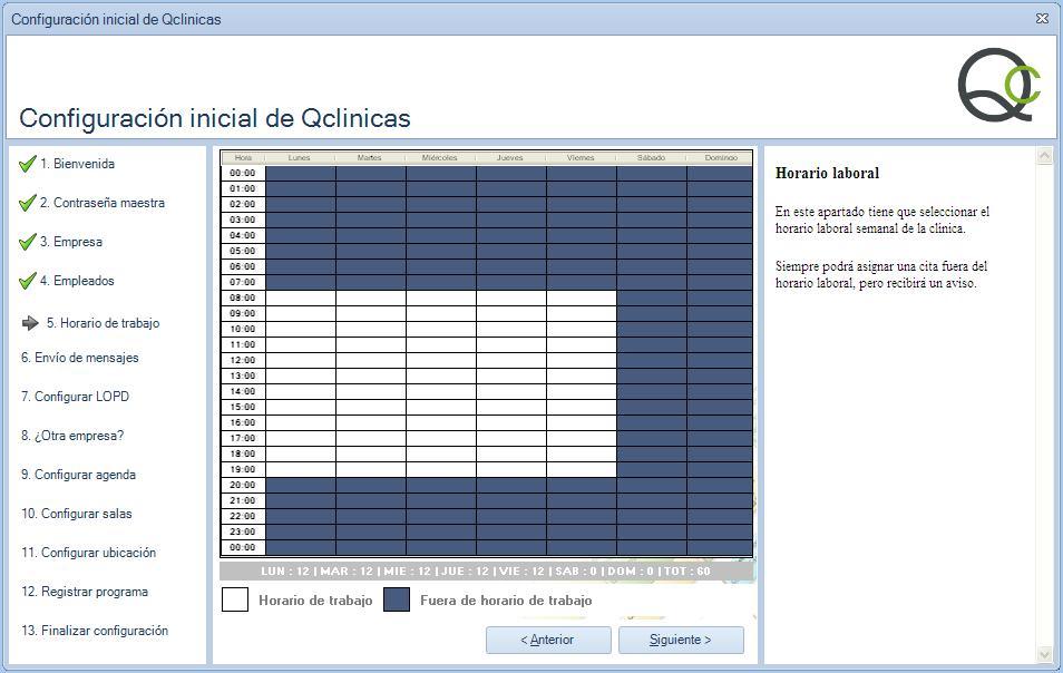 05 Configuración inicial Qclinicas