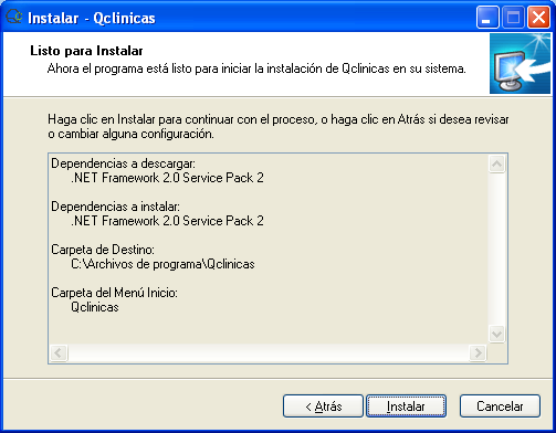 07 Instalación Qclinicas