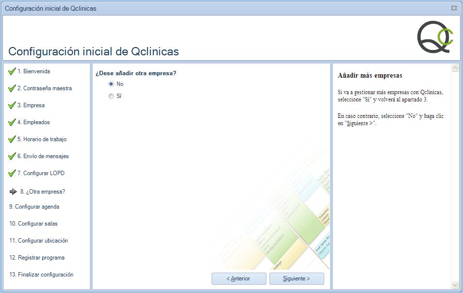 08 Configuración inicial Qclinicas