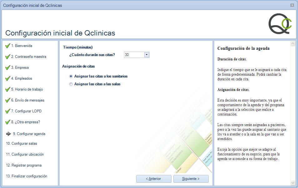 09 Configuración inicial Qclinicas