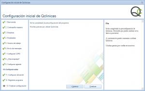 13 Configuración inicial Qclinicas