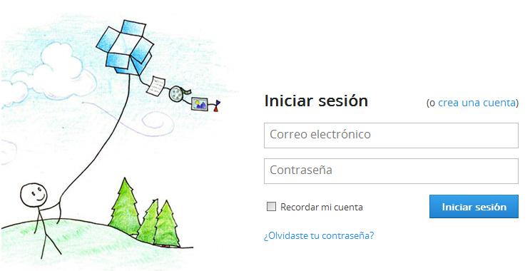 Conceder permisos a Qclinicas para acceder a Dropbox