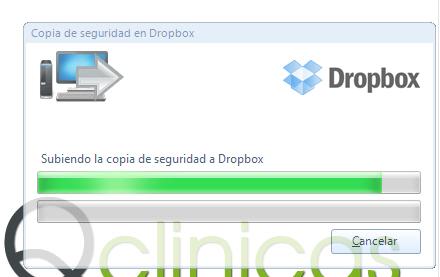 Proceso copia de seguridad Dropbox