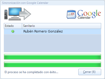Sincronizando Google Calendar